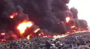 В Кувейте горит 7 млн. покрышек