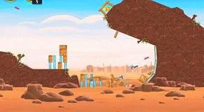 Прохождение Angry Birds: Star Wars 13 Tatooine