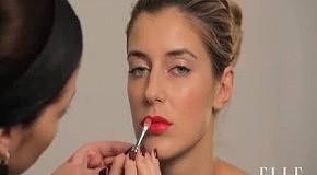 Тренд весны макияж с акцентом на губы