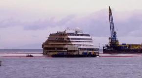 Costa Concordia: вид после спасательной операции