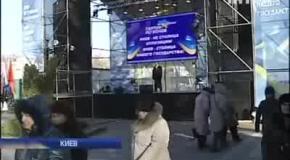 Политический деятель впервые оказался на сцене
