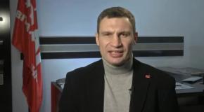 Виталий Кличко обратился к депутатам Партии Регионов