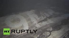 Последствия падения лайнера Boeing-777 на юго-востоке Украины