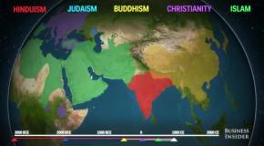 Как религии завоевывали мир