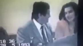 Президент Армении Сержик Саргсян пирует с Дедом Хасаном  Размиком Амояном (Чако)