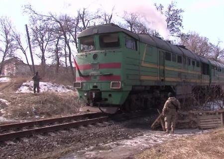 Укрзализныця восстановила движение поездов назаблокированном участке под Луганском