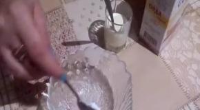 Маска-скраб из соды от прыщей.  Быстрый и легкий способ удаления прыщей на лице