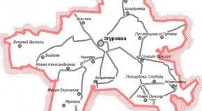 Карта Згуровский район, Киевская область, Украина