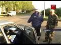 Юный нарушитель спрятался от ДПС в багажнике