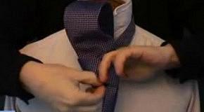 Как завязать галстук: узел Виктория