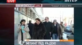 """Юрій Михальчишин на передачі """"Шустер LIVE"""""""