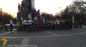 Активисты велопробега за Единство Украины прибыли в Харьков
