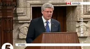 Порошенко выступил перед обеими палатами канадского паламента
