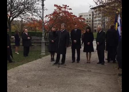 Порошенко: Словения поддержит санкции, покаРФ неуйдет изКрыма иДонбасса