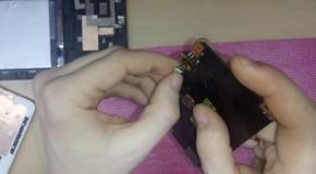 Asus k00b (Memo Pad HD 7 ME173X) разборка  замена USB