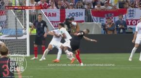 Хорватия – Англия: видео голов и обзор матча ЧМ-2018
