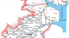Карта Иванковский район, Киевская область, Украина