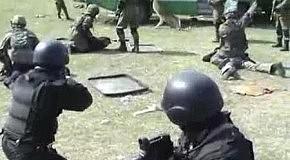 Тренировка по освобождению заложников