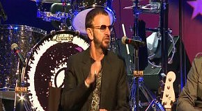Ringo Starr's North American tour 2012 started at the Fallsview Casino Resort