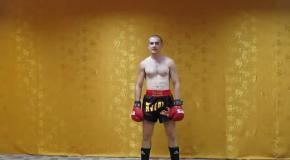 Тайский бокс  Комбинация - дерзкий фронт кик