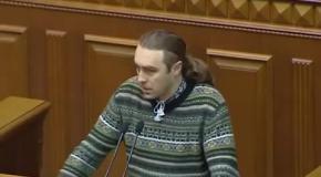 Крик душі Ігоря Мірошниченка Виступ з трибуни Верховної Ради