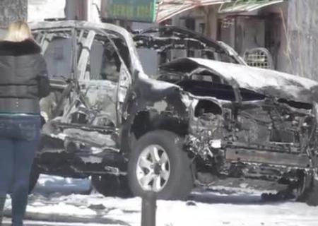 Взрыв вМариуполе: подорвали полицейского