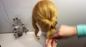 ПРИЧЕСКА ВЕЧЕРНЯЯ ОБЪЕМНАЯ |ВОЛОСЫ ИЗ ЖГУТОВ|EVENING HAIRSTYLES FOR HAIR BEAUTIFUL|ЕЛЕНА ЗАИТОВА