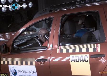 Кроссовер Рено Duster провалил краш-тесты Global NCAP набезопасность