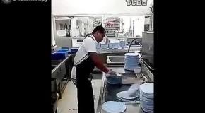 Мастер по мытью посуды