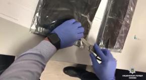 В Борисполе задержали наркокурьера с 3,5 кг кокаина