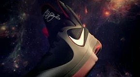 Космические кроссовки Nike Lebron 9