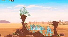 Прохождение Angry Birds: Star Wars 14 Tatooine