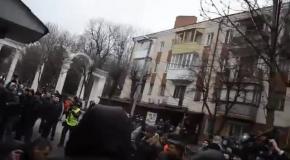 СБУ в Виннице расстреляли людей перед админзданием