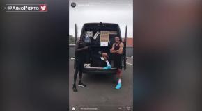 Adidas прислал Адетокумбо фургон с кроссовками