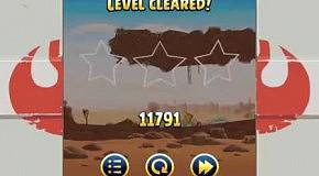 Прохождение Angry Birds: Star Wars 15 Tatooine