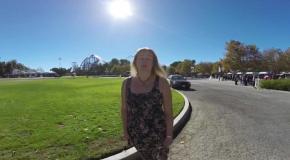 Американские горки  Six Flags Magic Mountain Los Angeles  California