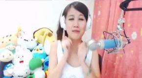 Смешная песня от азиатки