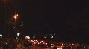НЛО или китайский фонарик? сразу после фестиваля фейерверков в Киеве.