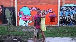 Граффити - предложение руки
