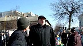 Уличная проповедь Короля