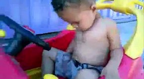 Заснул за рулем