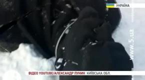 Неизвестные повалили памятник Ленину в Фастове