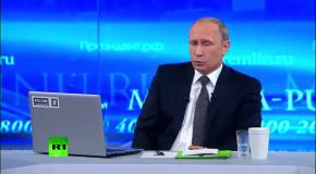 Путин: Я не делаю разницы между украинцами и русскими