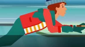 Как спастись, провалившись в полынью: видеоинструкция