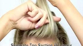 4 оригинальных способа собирать волосы в пучок