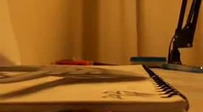 Объёмный карандашный рисунок