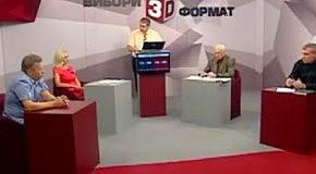 Ірина Фаріон на передачі «Вибори- 3D формат»