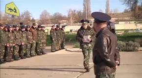 Солдатам воинской части Бельбека разрешили применять оружие