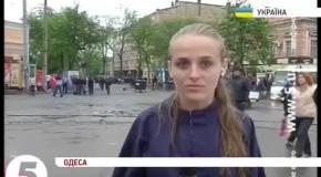 Нападение на журналистов 5-го канала в Одессе, 04.05.2014