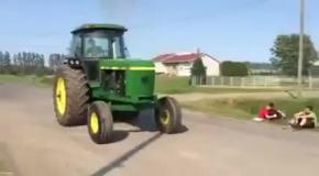 Этот трактор родился ракетой